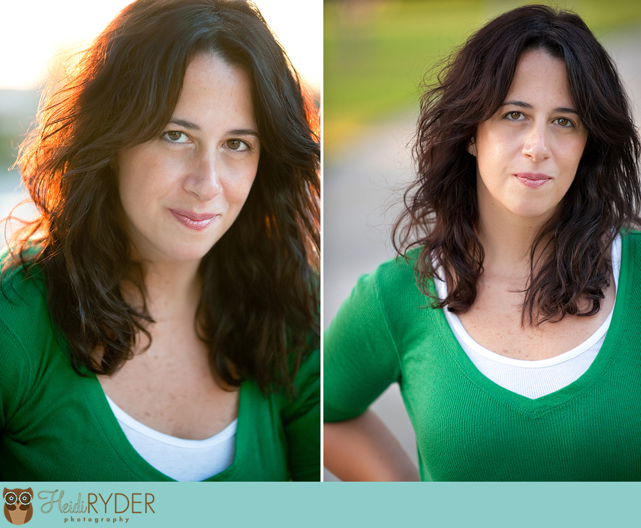 Los Angeles actor headshots