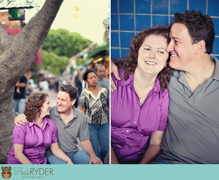 Olvera Street engagement photography