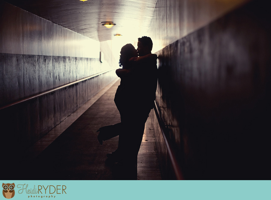 Union Station engagement photography