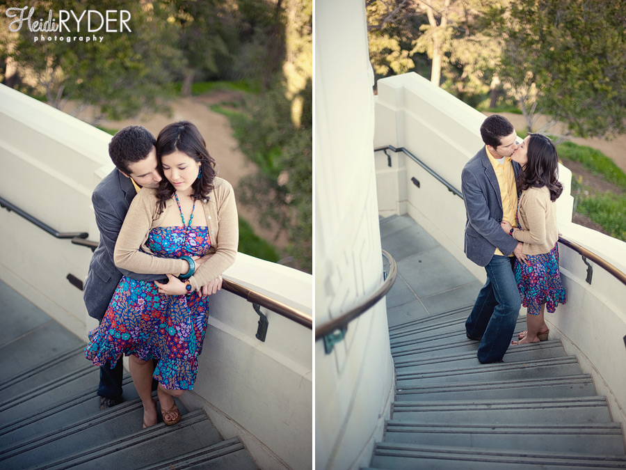 Griffith Observatory Engagement Session