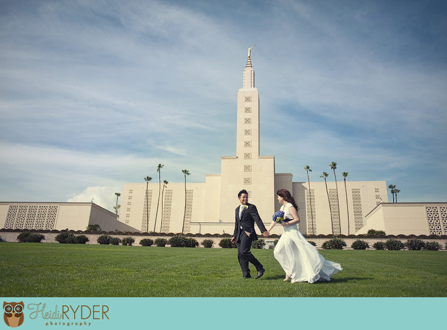 Westwood Los Angeles LDS Temple Wedding