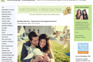 Featured on The Knot blog