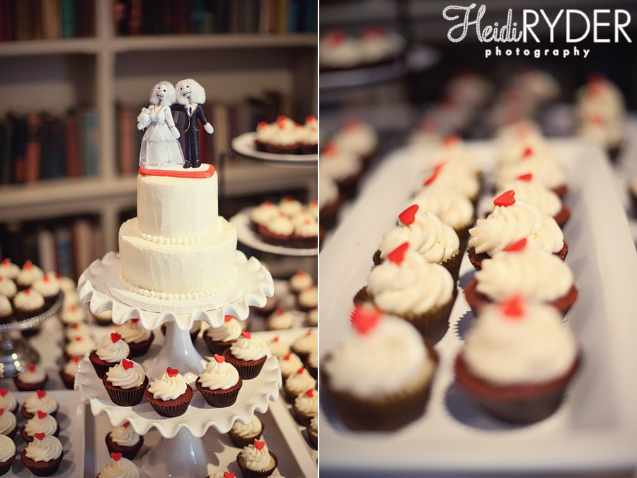 love+cupcakes wedding cupcakes and cake