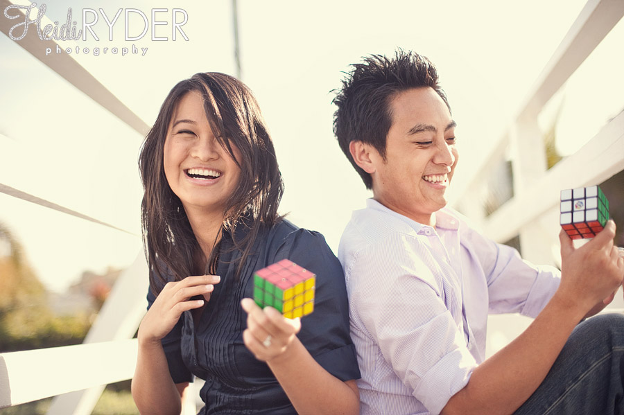Couple with Rubik