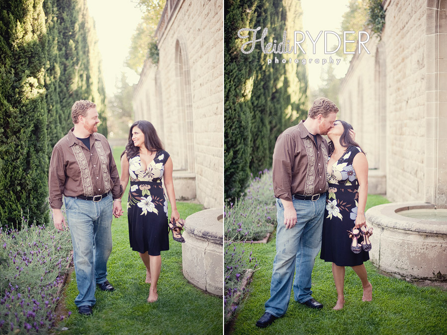 Couple in love at Greystone Mansion
