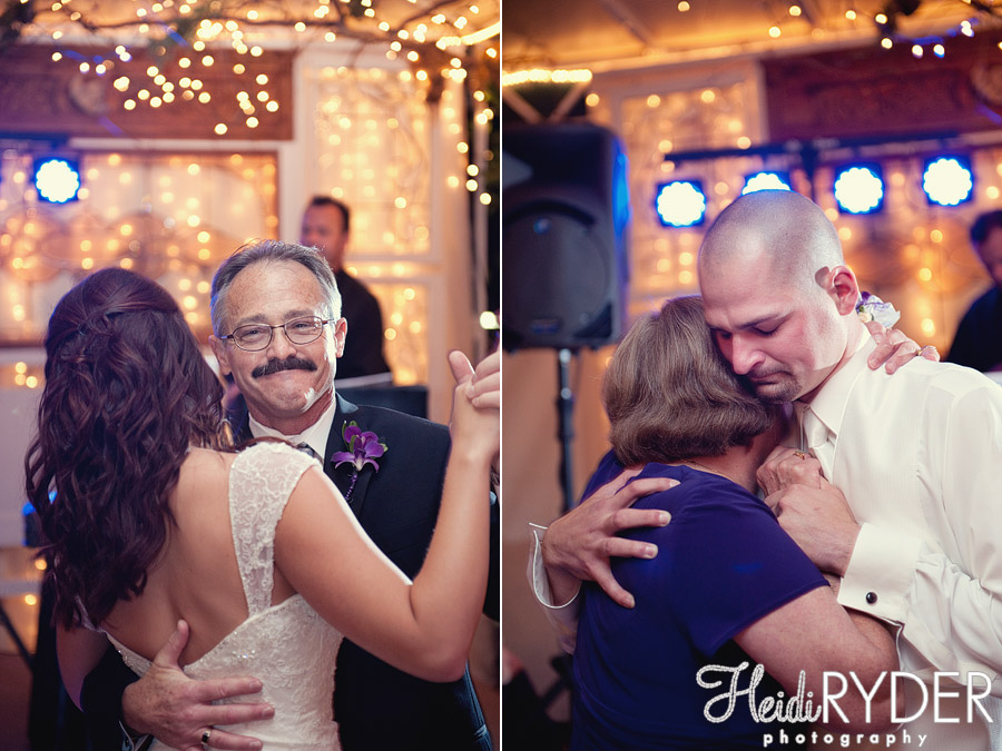father/daughter mother/son dance