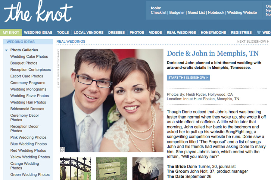 The Knot Feature