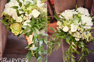 bridal bouquet by Floral Fields