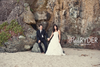 laguna beach bridal portraits