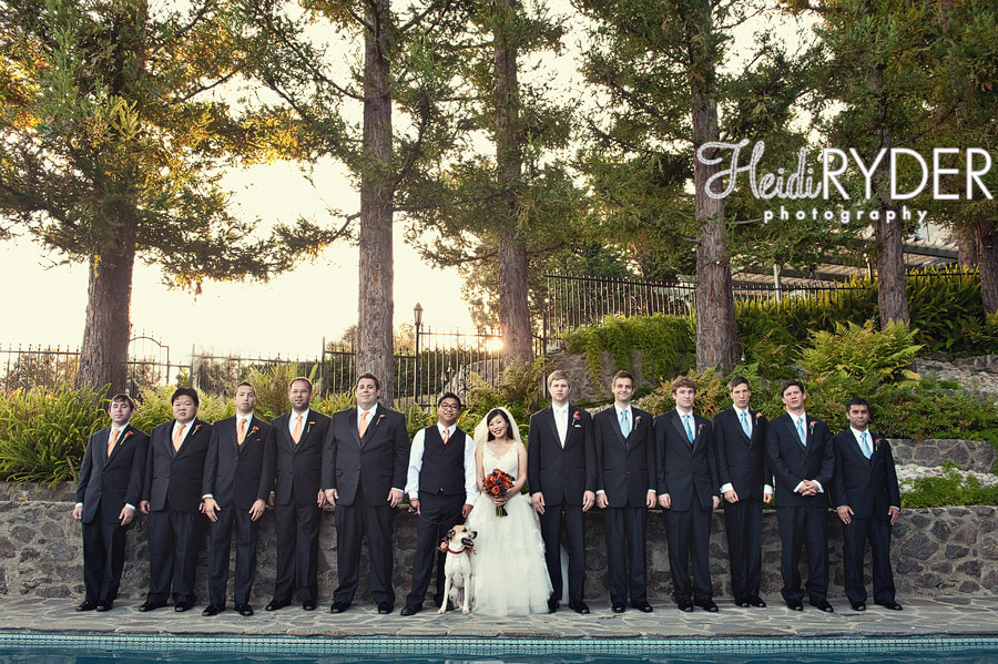 all male bridal party