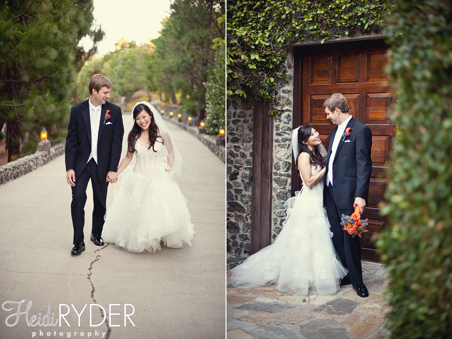 bride and groom portraits at stone manor