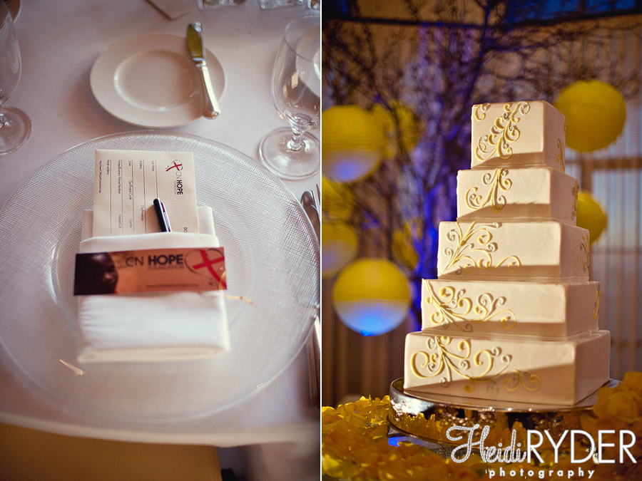 wedding cake and details