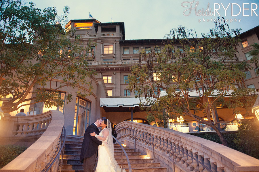 langham hotel wedding photos