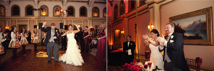 langham pasadena wedding reception