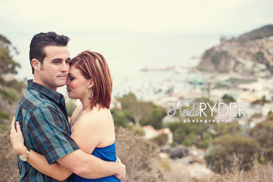 catalina island engagement