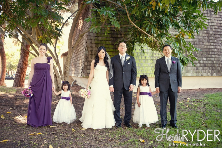 wedding party photos