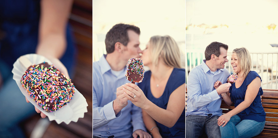 balboa bar engagement photos