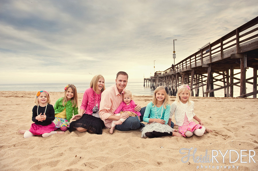 balboa pier family photography