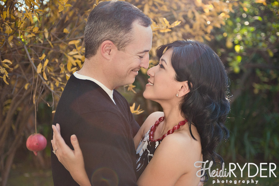 engagement photos fall foliage