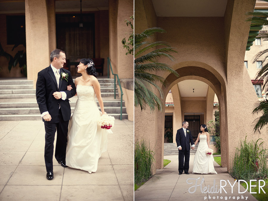 castle green pasadena wedding