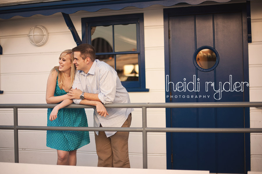 malibu pier engagement photos