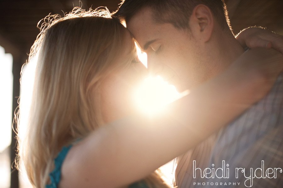 sun flare beach engagement