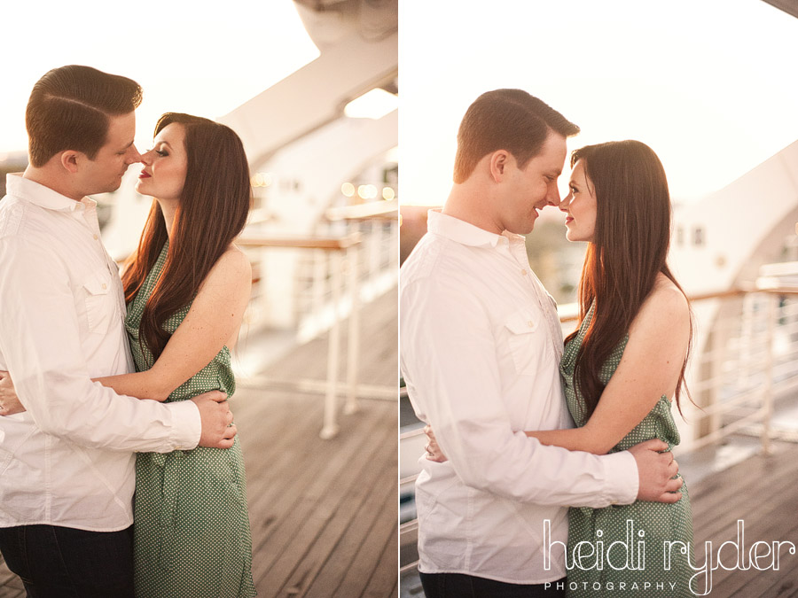 queen mary boat engagement