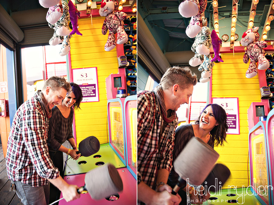 arcade games engagement photos