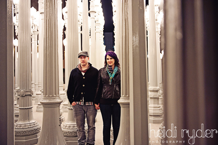 los angeles museum engagement
