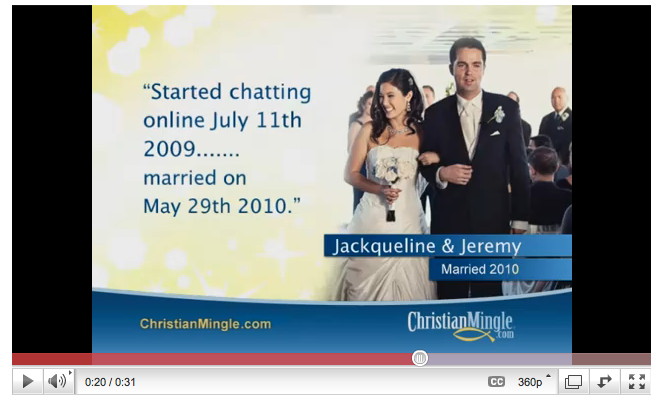 Christian Mingle commerical