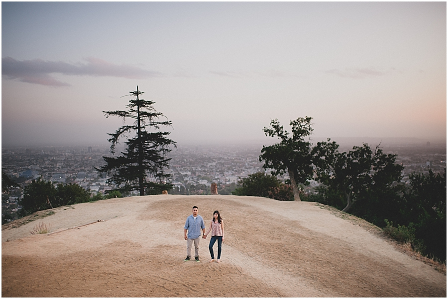 griffith park engagement photos