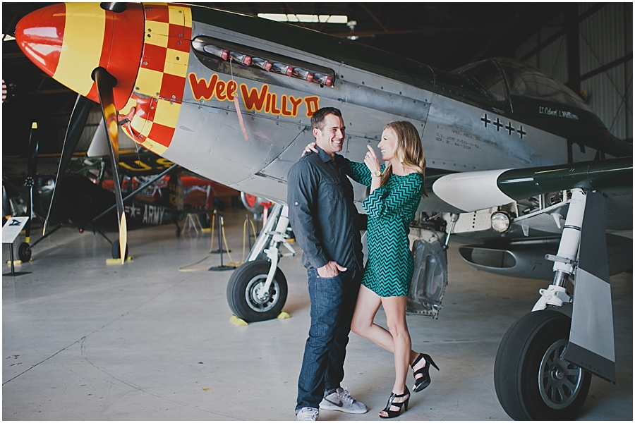 planes of fame engagement photos