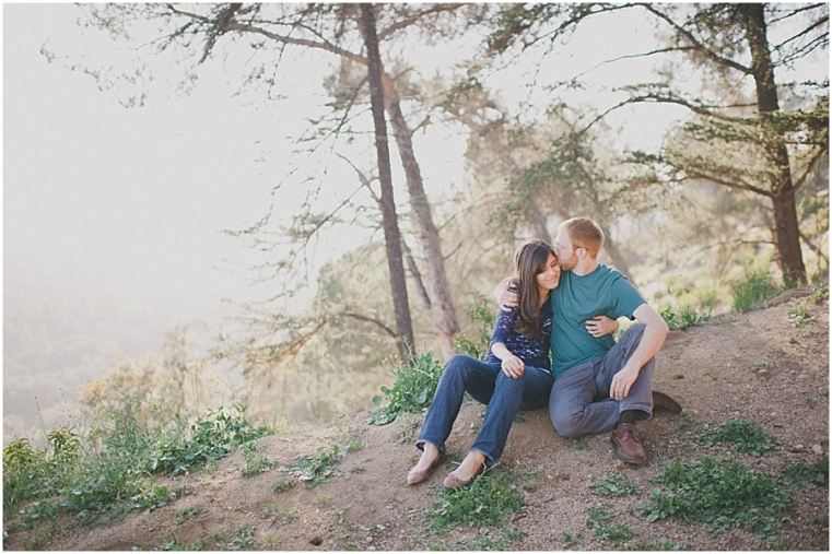 griffith park engagement session