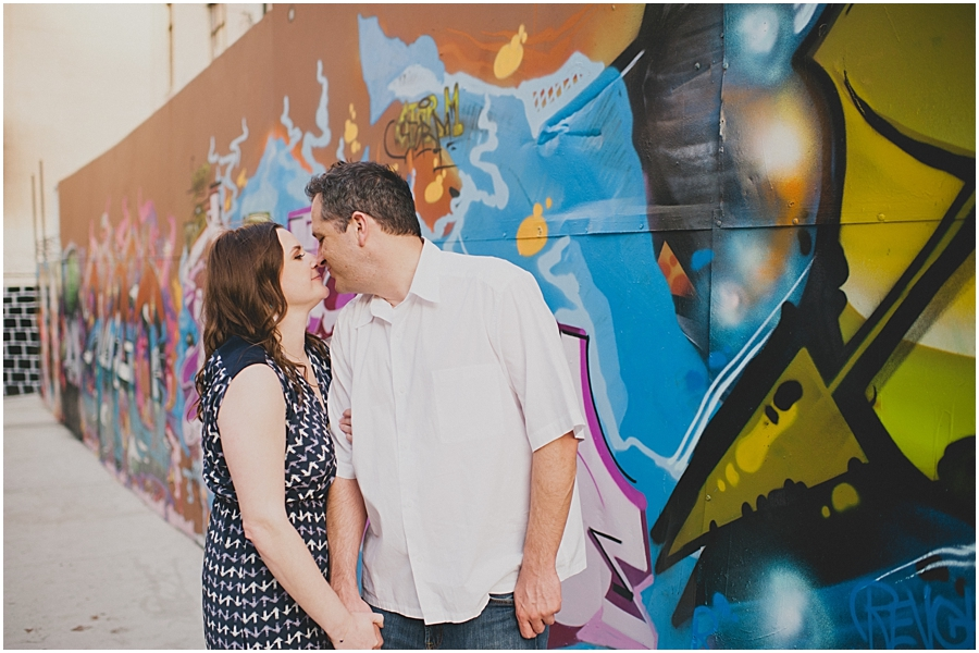 hollywood engagement session