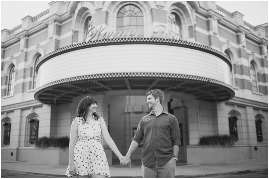 hollywood lot engagement photos