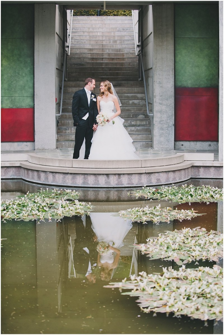 skirball center wedding photos