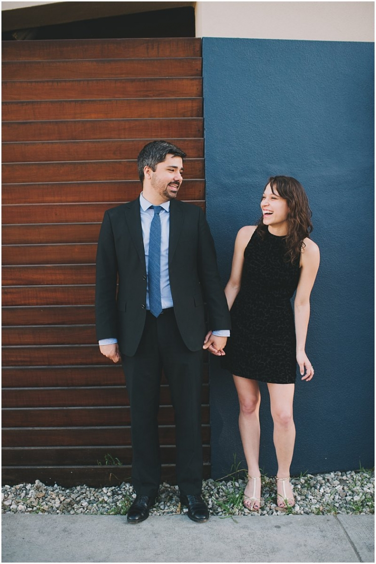 abbot kinney engagement photos
