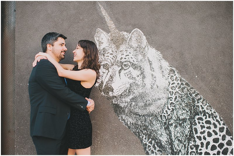 abbot kinney engagement photography