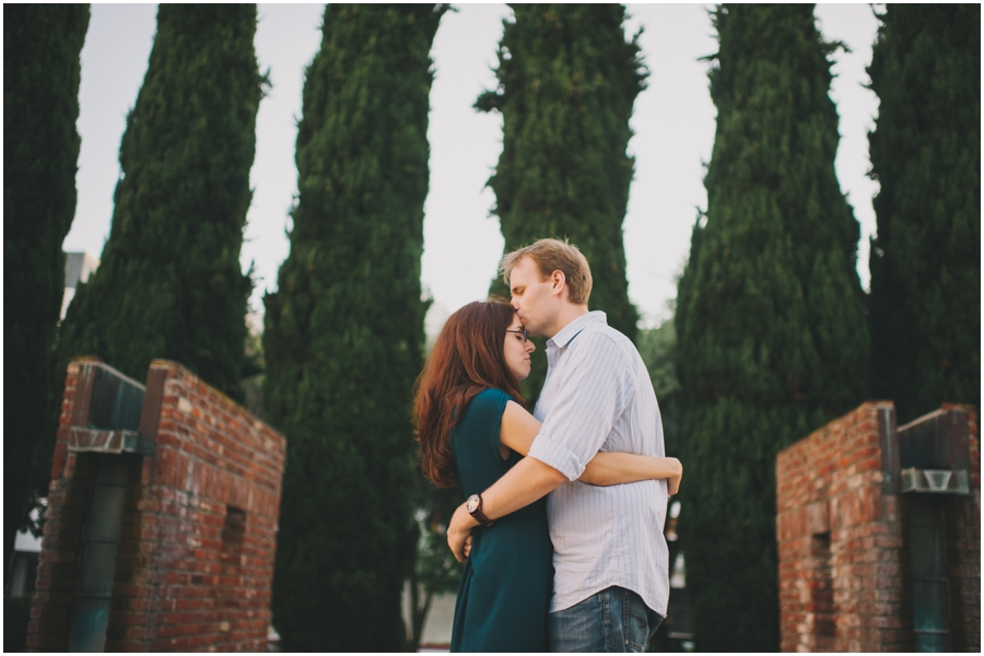 culver city engagement photograph