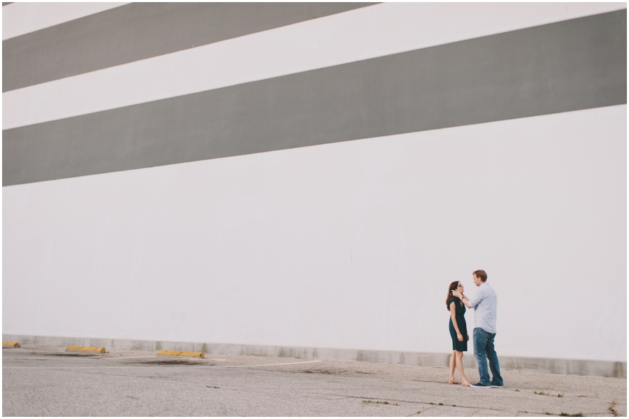 los angeles engagement photo
