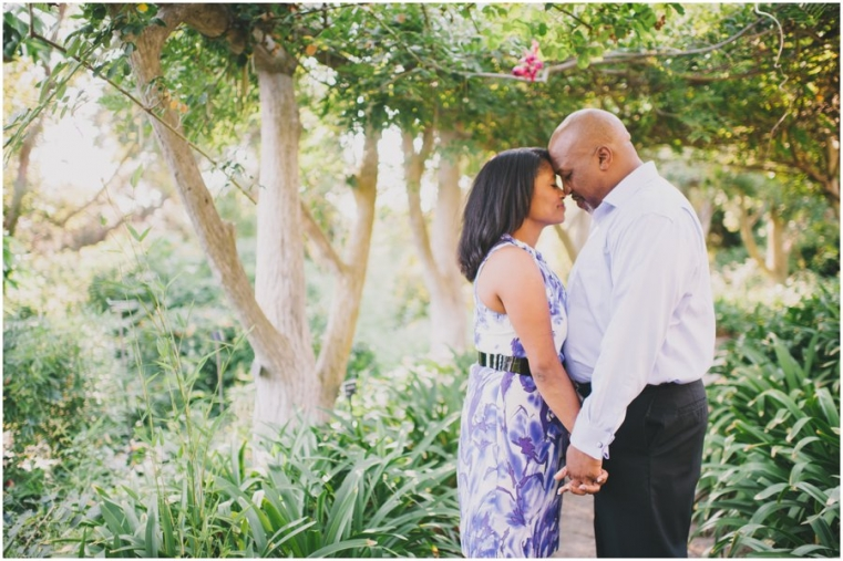 huntington gardens engagement photography