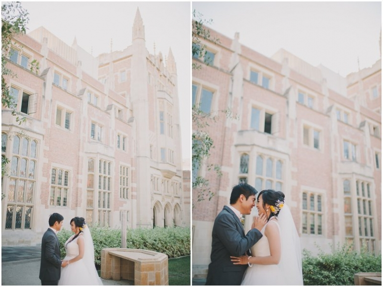 ucla campus wedding photography