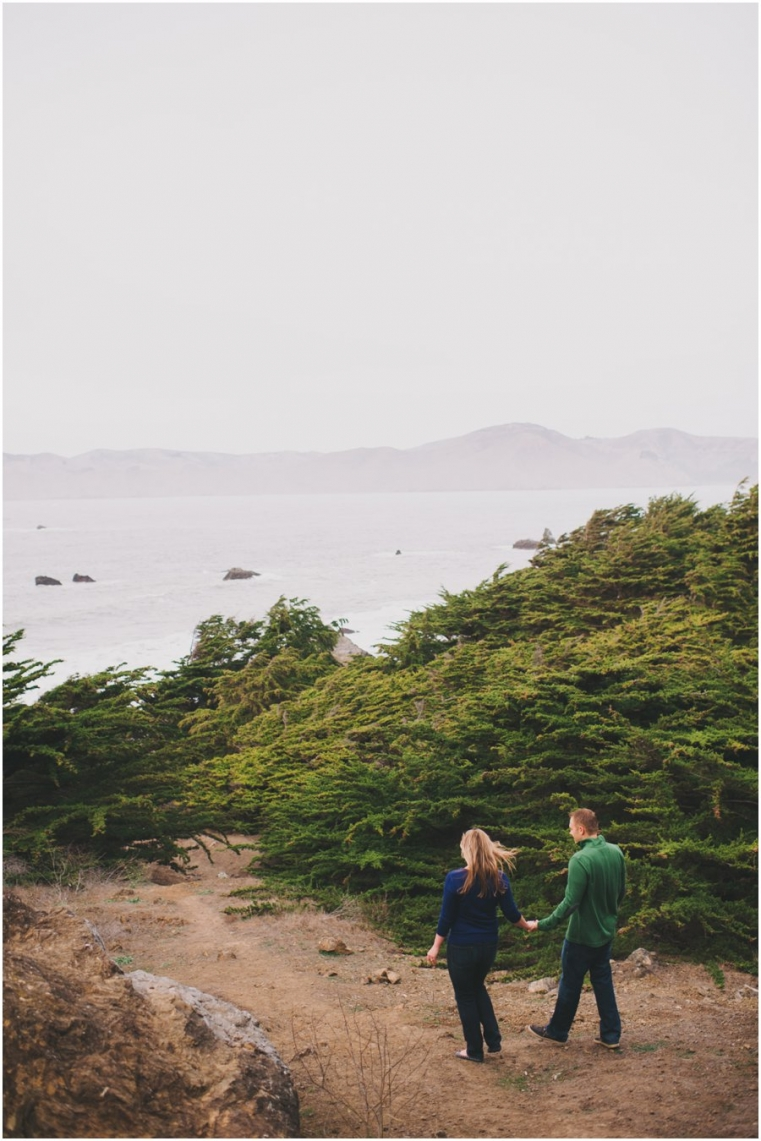 Sutro Bath House Engagement Photography
