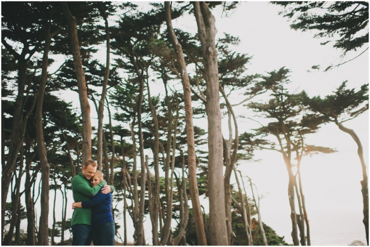 Sutro Bath House Engagement Photos