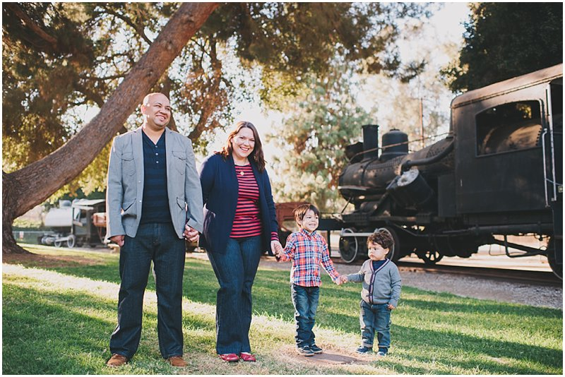 Travel Town Family Portraits