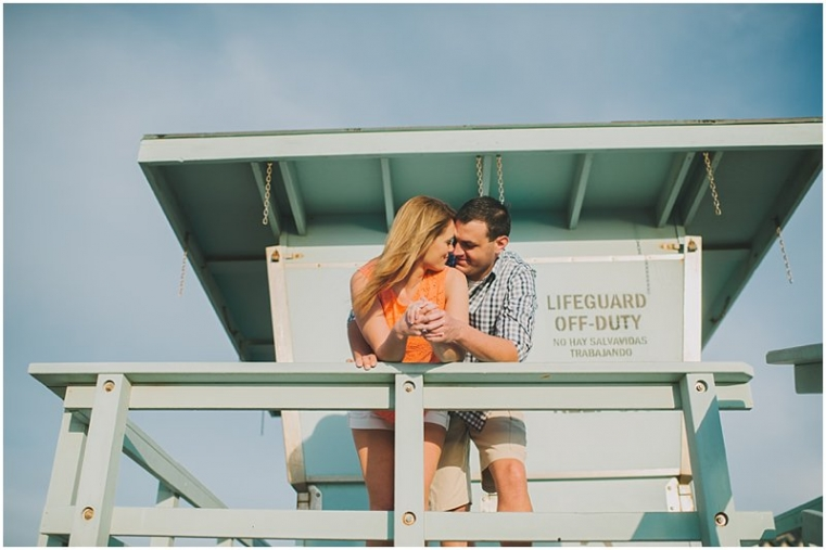 hermosa beach engagement