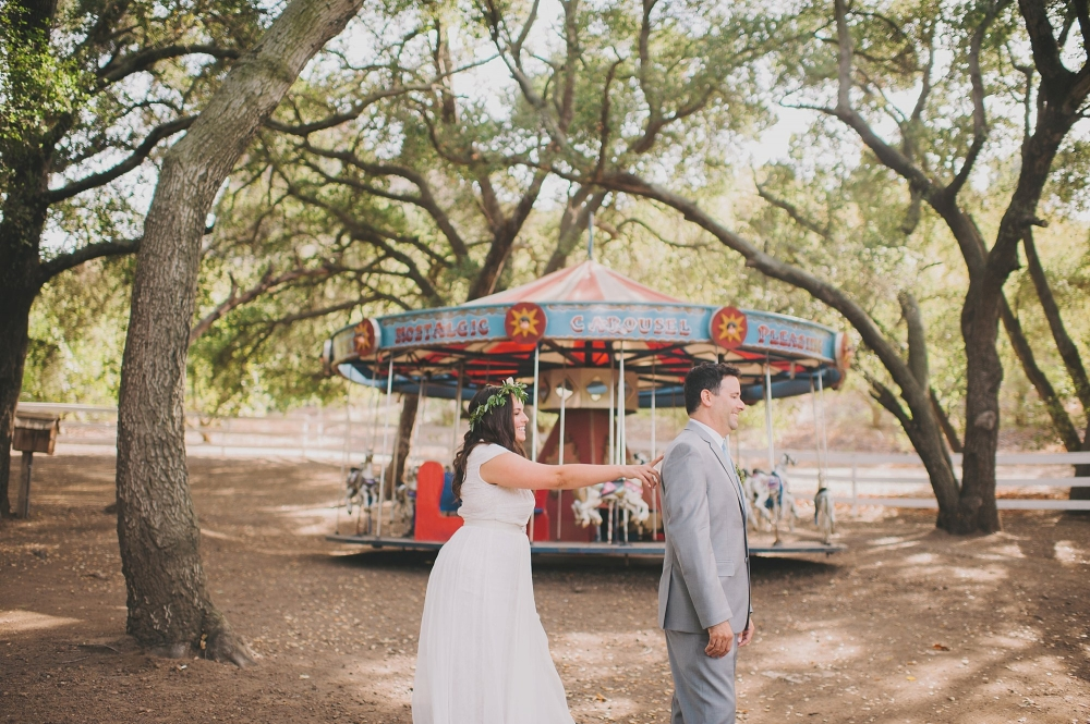Saddlerock Ranch wedding photo
