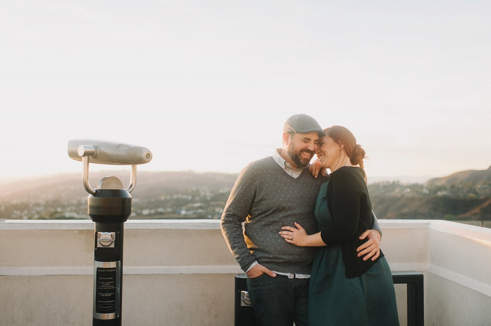Griffith Observaotry Engagement Photo