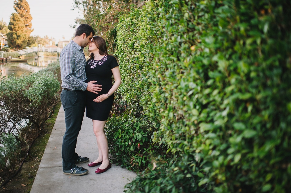 Venice Beach Maternity Photos